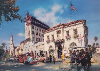 Life in St. Augustine, Florida AP Embellished Limited Edition Print by Cao Yong - 0