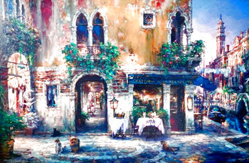 Evenings in Venice 2002 Embellished Limited Edition Print - Cao Yong