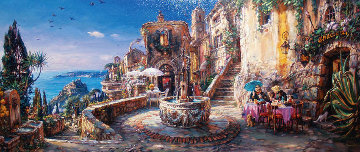 Mediterranean Sunrise Limited Edition Print by Cao Yong