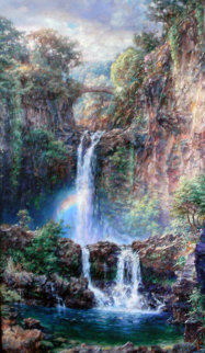 Sacred Pools, Maui Limited Edition Print by Cao Yong