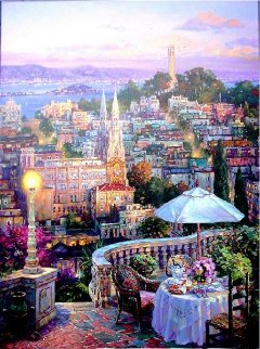 My Balcony Limited Edition Print by Cao Yong