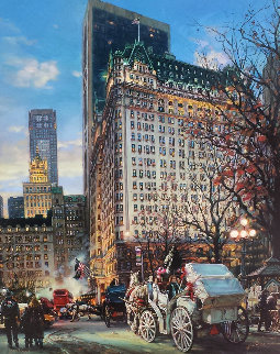 Heartbeat of New York Embellished Limited Edition Print by Cao Yong