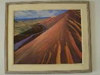 Hot Hill 1991 32x38 Original Painting by Howard Carr - 1