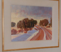 Winding Through 1991 16x20 Original Painting by Howard Carr - 2