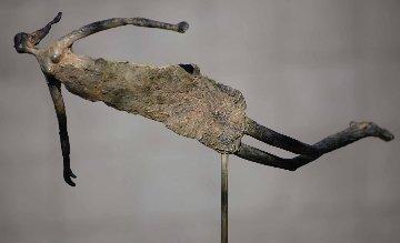 I Dream of Flying Bronze Sculpture Unique 2017 22 in Sculpture - Teddy Carraro