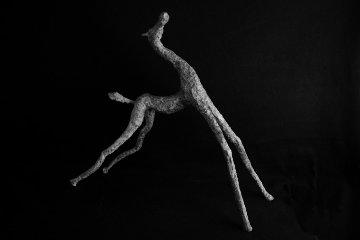 Happy Colt Bronze Sculpture 2010 Sculpture - Teddy Carraro