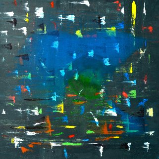 Still There 2011 48x48 Original Painting by Antonio Carreno