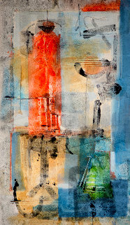 Salptarium 2005 60x40 Works on Paper (not prints) by Antonio Carreno