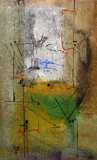 In the Forest 2004 60x40 Huge Works on Paper (not prints) - Antonio Carreno