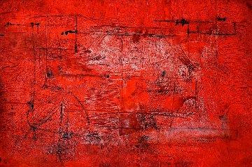 Passion #6 2006 40x60 Huge Works on Paper (not prints) - Antonio Carreno