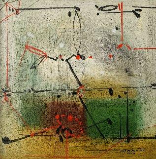Stage Three 2009 31x31 Original Painting by Antonio Carreno
