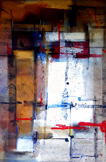 Dreams As Reality 2003 32x62 Super Huge Works on Paper (not prints) - Antonio Carreno