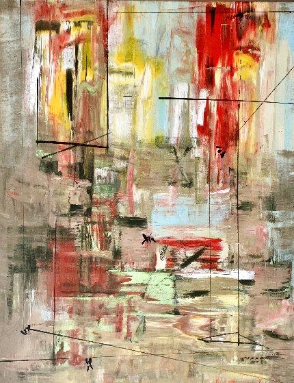 Fervent 2014 48x38 Original Painting by Antonio Carreno