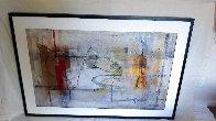 Poema Al Sol 2006 42x61 Huge Works on Paper (not prints) by Antonio Carreno - 1