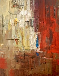 Transition 2012 72x58 Super Huge Original Painting - Antonio Carreno