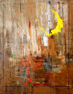 Sensés #5 2011 72x58 Super Huge Original Painting - Antonio Carreno