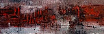 Other Senses 2007 73x25  Super Huge!  Original Painting - Antonio Carreno