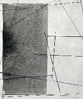 Black on White Painting 2021 48x48  Huge  Original Painting by Antonio Carreno - 1