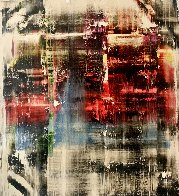Frequency #2 2017 51x47 Huge  Original Painting by Antonio Carreno - 0