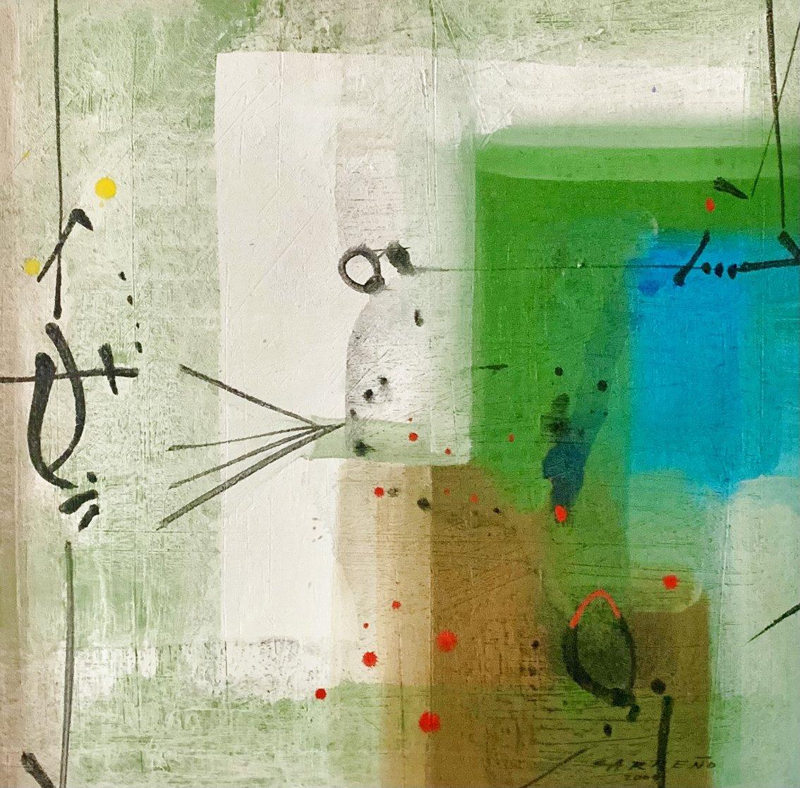 Springtime 2009 33x33 Original Painting by Antonio Carreno