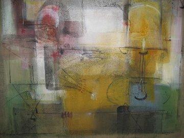 Tronto Del Alma 2001 48x60 Huge Original Painting - Antonio Carreno