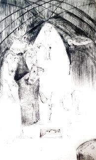 Bran's Head 1976 Limited Edition Print - Leonora Carrington