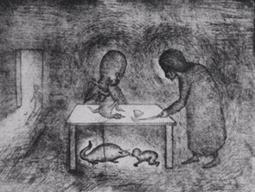 Chiquen Soup 1985 Limited Edition Print - Leonora Carrington