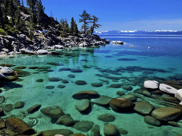 Clearly Beautiful  (Lake Tahoe) Panorama by William Carr
