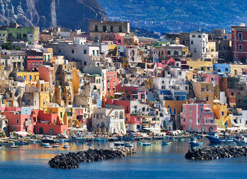 Procida Panorama by William Carr