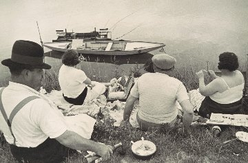 Sunday on the Banks of the River Marne Photography by Henri Cartier-Bresson