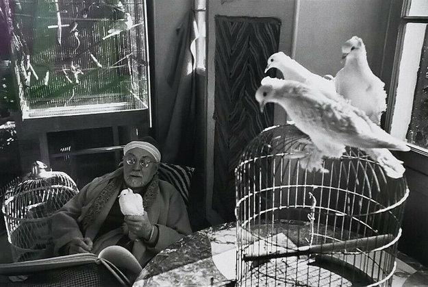 Henri Matisse, Vence, France Limited Edition Print by Henri Cartier-Bresson