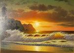Hidden Paradise 24x36 Original Painting - Anthony Casay
