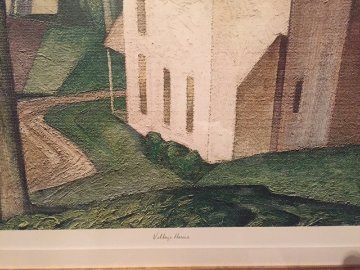 Village House Limited Edition Print - A.J. Casson