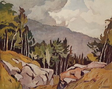 Near Rockingham 2001 Limited Edition Print by A.J. Casson