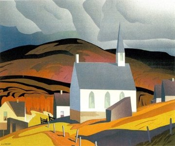 Northern Church AP Limited Edition Print by A.J. Casson