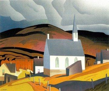 Northern Church AP Limited Edition Print - A.J. Casson