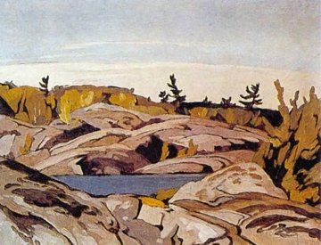 Morning Light Limited Edition Print by A.J. Casson