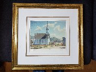 Church of St. Laurence O'Toole Limited Edition Print by A.J. Casson - 2