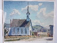Church of St. Laurence O'Toole Limited Edition Print by A.J. Casson - 1