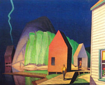 Prelude Limited Edition Print - A.J. Casson