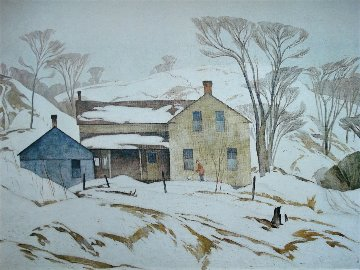 Valley Farm 1980 Limited Edition Print by A.J. Casson
