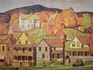 Parry Sound  AP 1980 Limited Edition Print - A.J. Casson