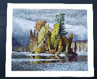 Little Island Limited Edition Print by A.J. Casson - 1