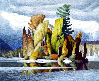 Little Island Limited Edition Print by A.J. Casson - 0