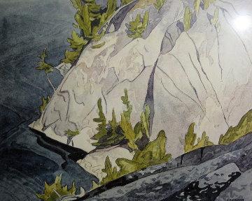 Cliffs Lake Waginaw Limited Edition Print - A.J. Casson