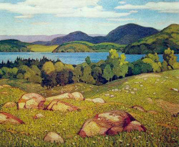 Haliburton Limited Edition Print by A.J. Casson