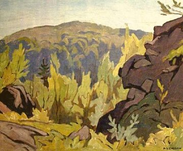 Near Diamond Lake AP Limited Edition Print by A.J. Casson