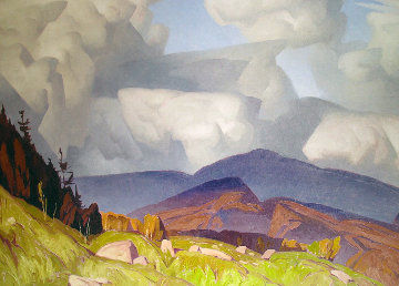 Madawaska Valley 1980 Canada Limited Edition Print by A.J. Casson