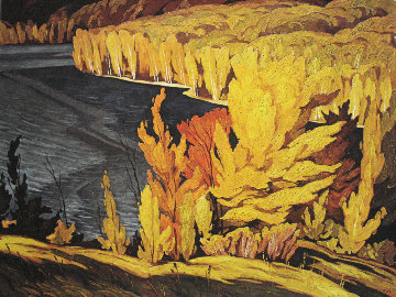 Bay of Lake Batiste 1980 Limited Edition Print - A.J. Casson