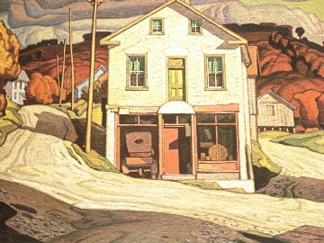 Old Store in Salem 1980 Limited Edition Print - A.J. Casson